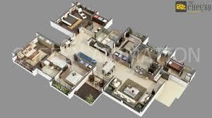modern 4 bedroom house floor plans 3d house floor plans