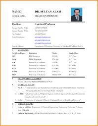 Biodata Resumes Biodata Resume Format Pdf With Job Download Free Plus Format Doc