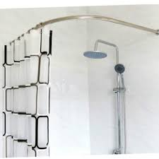 curtain awesome curved shower curtain rod 36 curved 90 degree shower rods curved