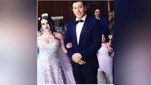 حقيقة زواج الراقصة صافيناز من مصطفى شعبان و صافيناز تستقبل التهانى بعد  نشرها الصور - YouTube