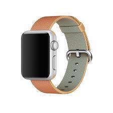 Нейлоновый <b>ремешок</b> для <b>Apple</b> Watch 38mm Red/Gold Woven ...