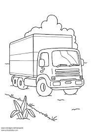 Kleurplaat Vrachtwagen Afb 3098 Images