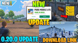 Pubg Mobile Lite New 0.20.0 Global ...