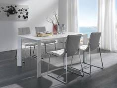 from furniture choice vienna modern extending dining table in choice of high gloss white or ivory