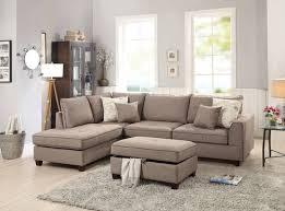 f6544 mocha 3 pcs sectional sofa set by