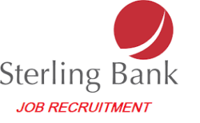 JOB RECRUITMENT (2 POSITIONS) @ STERLING BANK PLC (OCTOBER, 2021)