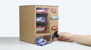 how to make kitkat skittles oreo vending machine mini gear