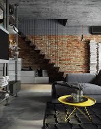Home Designs: Exposed Brick House - Modern