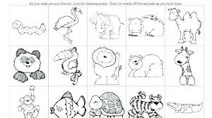Zoo Animal Coloring Pages Kids Free Printable Sheets Page Animals