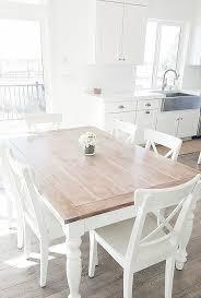 dining table re makeover white lane decor