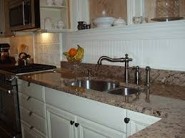 Granite Kitchen Sinks Pros And Cons Do You Like Your Beadboard Backsplash