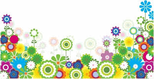 Small Picture Bright spring flower garden border free vector download 21699