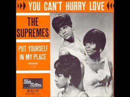 The supremes' you can't hurry love was at #28, and on september 4th it would reach #1 for 2 weeks. The Supremes You Can T Hurry Love Remix By Dj Nilsson Tamla Motown Motown Remix