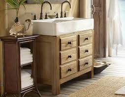 potterybarn double sink for small bathroom