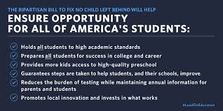 secretary duncan finally a fix to no child left behind ed gov  education checklist rec 1