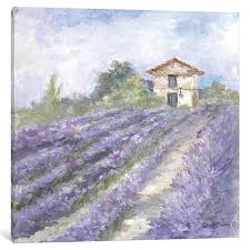 buy french farmhouse series lavender fields by debi coules by canvas wall art on dot bo on lavender fields wall art with buy french farmhouse series lavender fields by debi coules by