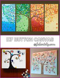 diy on tree canvas wall art tutorials