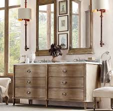 rh s empire rosette double vanity sink an french dresser discovered