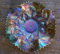 Carnival Glass Patterns Stunning Dan Ruth Among The Collectors Carnival Glass A Legacy From The