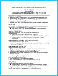 Small Business Manager Resume Examples Proyectoportal Com