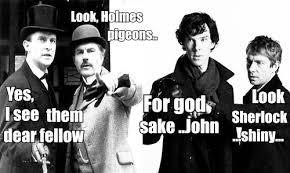 DeviantArt: More Like BBC vs Granada Sherlock Holmes by MrsJokerQuinn via Relatably.com
