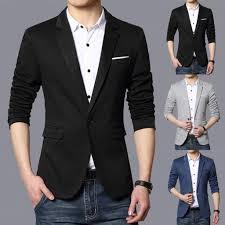 Lucamore Mens Casual Blazer Jacket Slim Fit Sport Coats