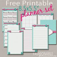 free printable half page owl planner set updated for 2018 from fashionable moms