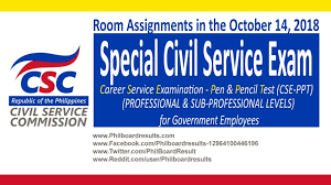 Civil Service Exam Application Form Cool School Assignments October 48 48 Special Civil Service Exam CSE