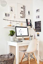 home office simple neat. Modern White Home Office Simple Neat E