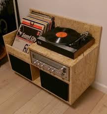 vinyl record storage furniture. My Homemade OSB Record Player Storage/furniture. Records, Player, OSB, Vinyl Storage Furniture