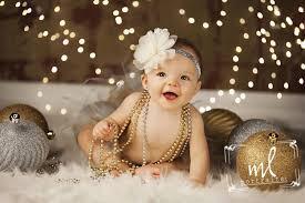 Baby Pics With Christmas Lights Www Mlportraits Com Kids Photography Baby Girl Photo