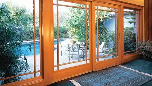 french wood sliding glass doors san go