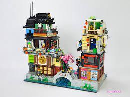 Ninjago City : The Suburbs (An extension to Lego set 70657…