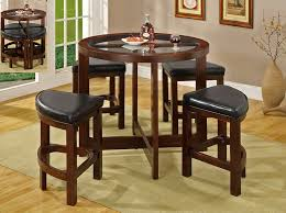 home and furniture remarkable small pub table sets on mix n match set black finish