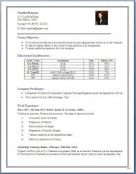 Various Resume Formats For 5 Years Experience In Accounting 3 Resume Format Pinterest