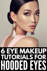 how to apply eye makeup for hooded eyes learn how to apply eyeshadow and