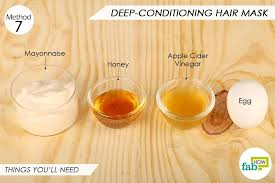 mayonnaise conditions hair ¼ cup