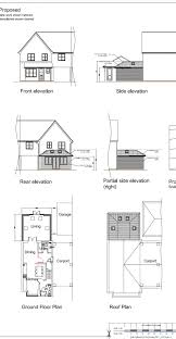 architect designs planning stage drawing
