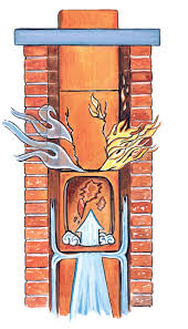 luxury fireplace flue repair