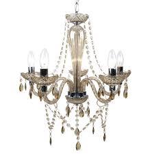 champagne 5 light marie antoinette chandelier