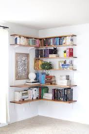 architecture redoubtable living room shelving ideas 13 simple diy projects floating corner shelves warm living room