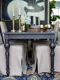 distressed black dining room table. Distressed Black Dining Table Rustic Room L