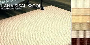 small sisal rug
