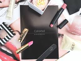cohorted beauty box april 2016 of the box 35 00 plus free pose no of s in the box 8 items worth 87 98 cohorted co uk