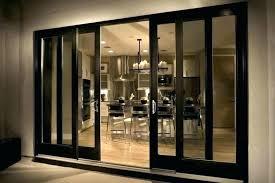 exterior pocket doors with glass sliding o large