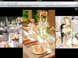 With a little planning and thought, your tables will really stand out just  like this Vintage Romance-themed offering