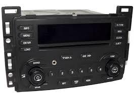 Chevy Malibu 2004-06 Car Radio - AM FM 6 Disc CD Player w Aux MP3 ...