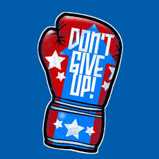 don t give up motivational wallpaper on boxing