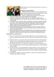 discuss the advantages and disadvantages of different family types  page 1