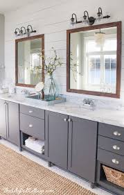 bathroom vanity mirror lights. Lake House Master Bath Makeover Lakes And Regarding Bathroom Vanity Mirrors Lights Decorations 19 Mirror